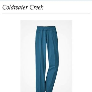 Cold water Creek pull on pants